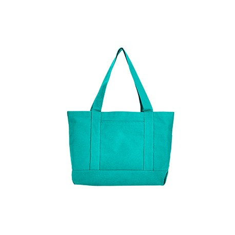 8870 Liberty Bags 8870 Seaside Cotton Canvas 12 oz. Pigment-Dyed Boat Tote SEAFOAM GREEN