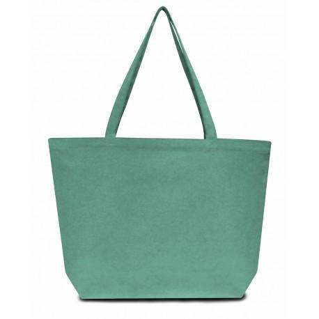 LB8507 Liberty Bags LB8507 Seaside Cotton 12 oz. Pigment-Dyed Large Tote SEAFOAM GREEN