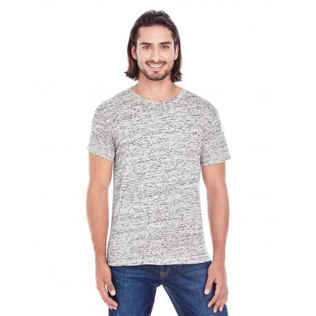 104A Threadfast Apparel 104A Men's Blizzard Jersey Short-Sleeve T-Shirt SILVER BLIZZARD