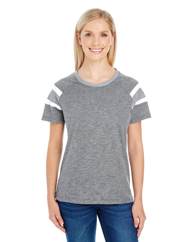 3011 Augusta Sportswear SLT/ATH HTH/WH