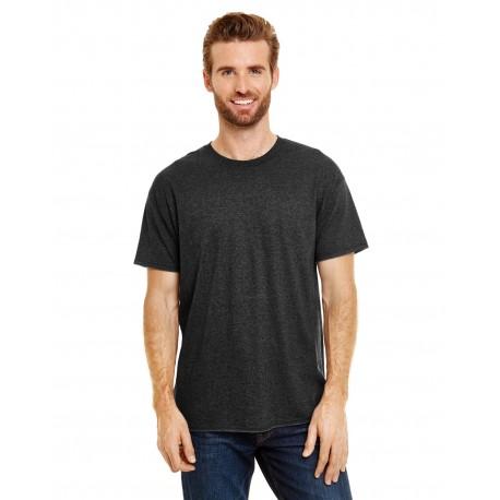 42TB Hanes 42TB Adult X-Temp Triblend T-Shirt SOL BLACK TRBLND