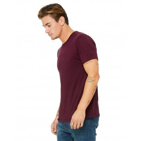 3413C Bella + Canvas 3413C Unisex Triblend Short-Sleeve T-Shirt SOLID MRN TRBLND