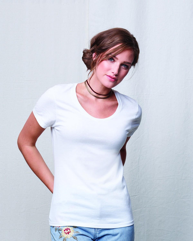 MO150 Hanes SOLID WHITE TRBL