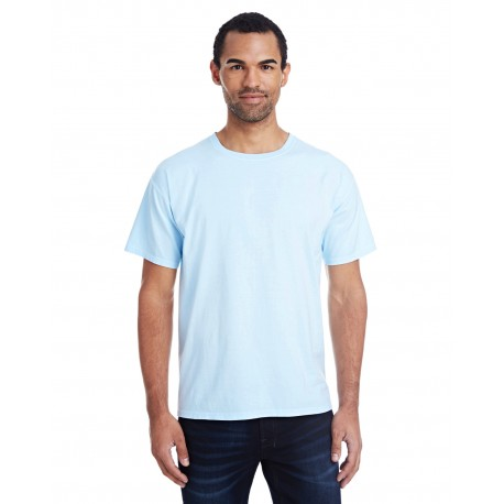 GDH100 ComfortWash by Hanes GDH100 Men's 5.5 oz., 100% Ringspun Cotton Garment-Dyed T-Shirt SOOTHING BLUE