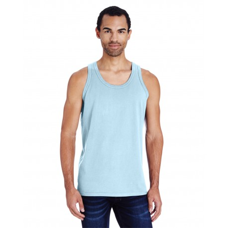 GDH300 ComfortWash by Hanes GDH300 Unisex 5.5 oz., 100% Ringspun Cotton Garment-Dyed Tank SOOTHING BLUE