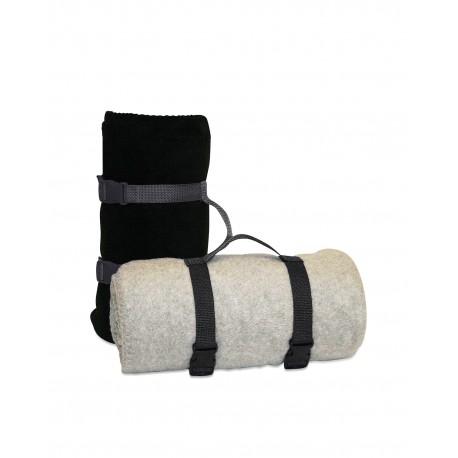 8820 Liberty Bags 8820 Blanket Strap BLACK
