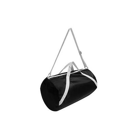 FT004 Liberty Bags FT004 Nylon Sport Rolling Bag BLACK