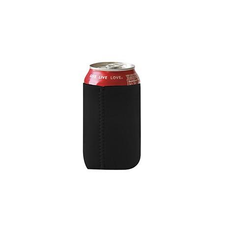 FT007 Liberty Bags FT007 Neoprene Can Holder BLACK