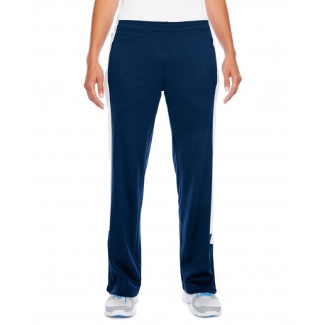 TT44W Team 365 TT44W Ladies' Elite Performance Fleece Pant SP DK NAVY/WHT