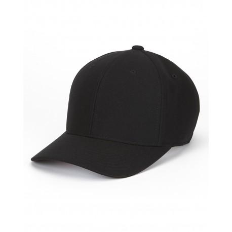 110P Flexfit 110P Cool & Dry Mini Pique Cap BLACK