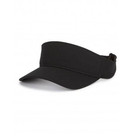 Y8110 Flexfit Y8110 Adult Cool & Dry Visor BLACK