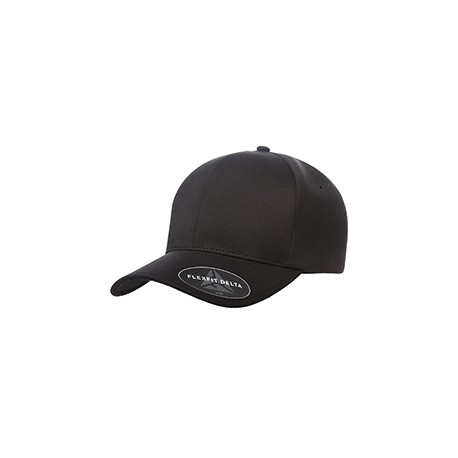 YP180 Flexfit YP180 Adult Delta X-Cap BLACK