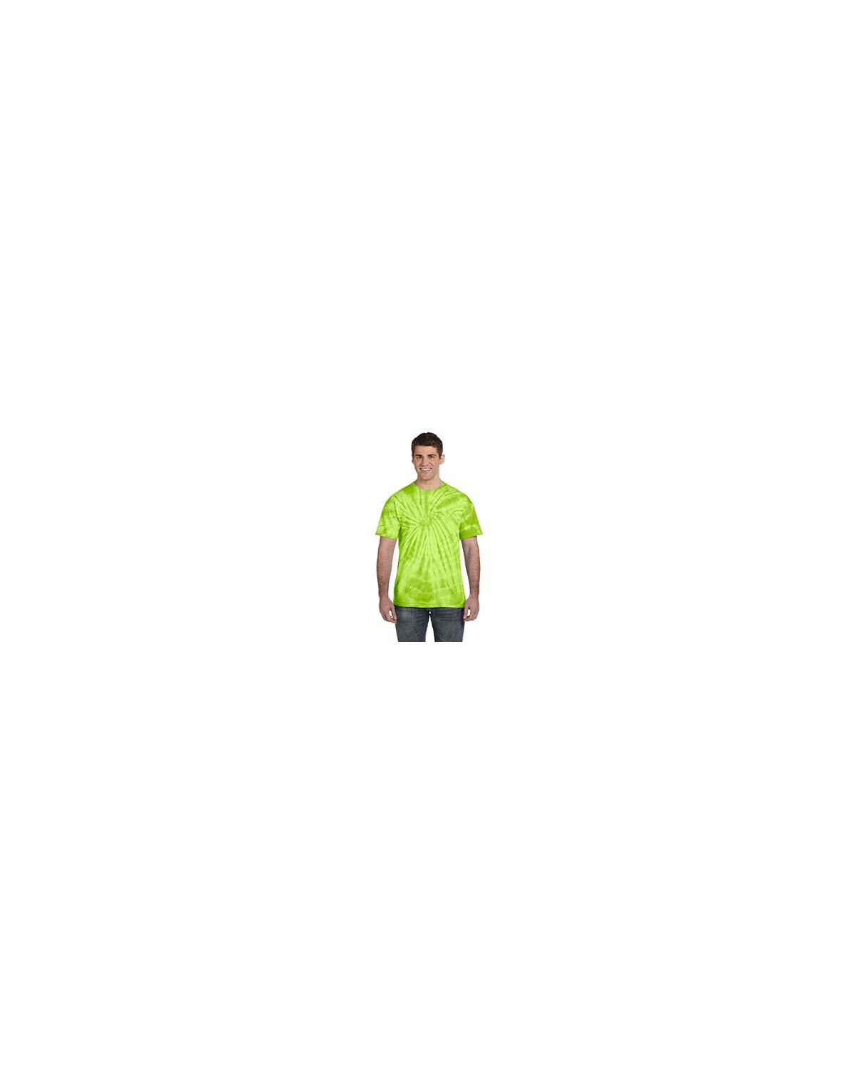 CD101 Tie-Dye SPIDER LIME