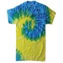CD100Y Tie-Dye SPIRAL BLUE YLLW