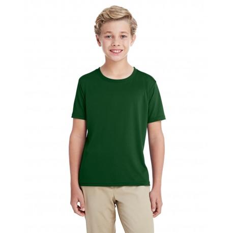G460B Gildan G460B Youth Performance Youth Core T-Shirt SPORT DARK GREEN