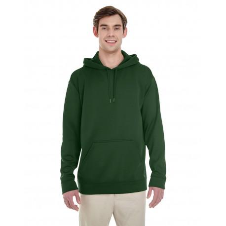 G995 Gildan G995 Adult Performance 7 oz. Tech Hooded Sweatshirt SPORT DARK GREEN