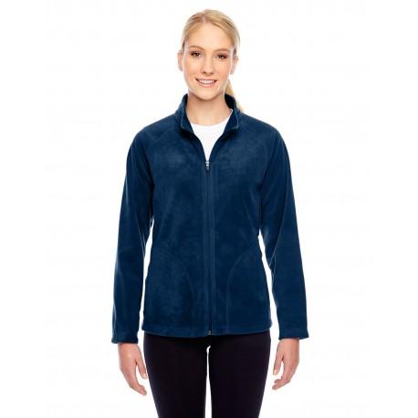 TT90W Team 365 TT90W Ladies' Campus Microfleece Jacket SPORT DARK NAVY