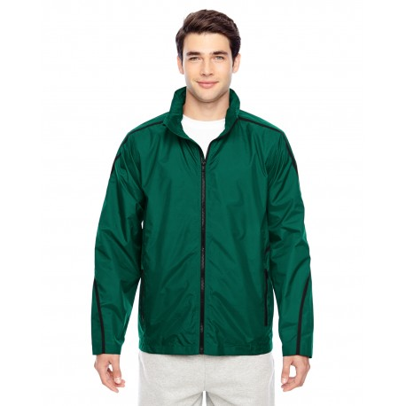 TT70 Team 365 TT70 Adult Conquest Jacket with Mesh Lining SPORT FOREST