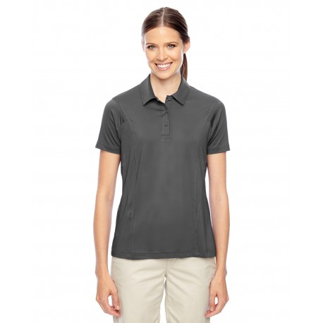 TT20W Team 365 TT20W Ladies' Charger Performance Polo SPORT GRAPHITE