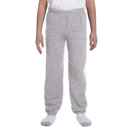 G182B Gildan G182B Youth Heavy Blend 8 oz., 50/50 Sweatpants SPORT GREY