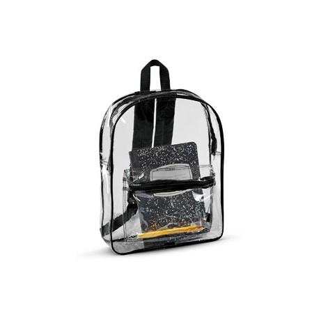 7010 Liberty Bags 7010 Clear Backpack BLACK