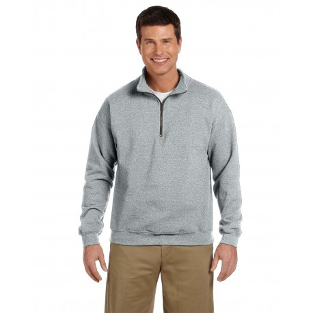G188 Gildan G188 Adult Heavy Blend Adult 8 oz. Vintage Cadet Collar Sweatshirt SPORT GREY