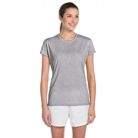 G420L Gildan G420L Ladies' Performance Ladies' 5 oz. T-Shirt SPORT GREY