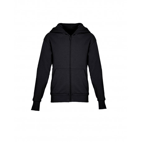9103 Next Level 9103 Youth Zip Hoody BLACK
