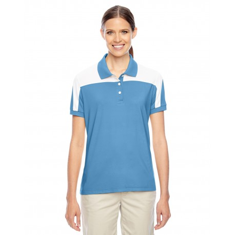 TT22W Team 365 TT22W Ladies' Victor Performance Polo SPORT LIGHT BLUE