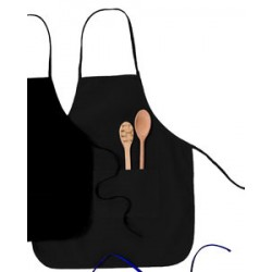 "Big Accessories APR52 Two-Pocket 28"" Apron"