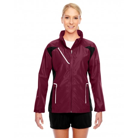 TT86W Team 365 TT86W Ladies' Dominator Waterproof Jacket SPORT MAROON