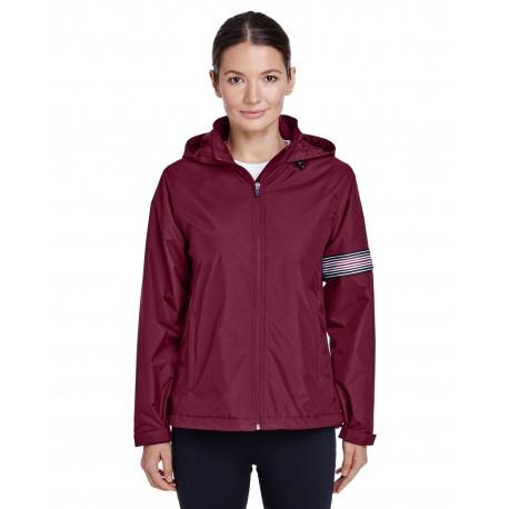 TT78W Team 365 TT78W Ladies' Boost All-Season Jacket with Fleece Lining SPORT MAROON
