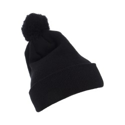 Yupoong 1501P Cuffed Knit Beanie with Pom Pom Hat