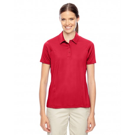 TT20W Team 365 TT20W Ladies' Charger Performance Polo SPORT RED