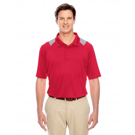 TT24 Team 365 TT24 Men's Innovator Performance Polo SPORT RED