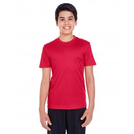 TT11Y Team 365 TT11Y Youth Zone Performance T-Shirt SPORT RED