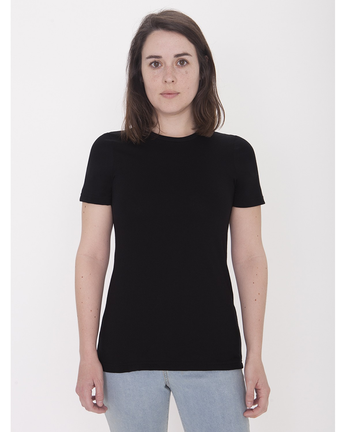 23215OW American Apparel BLACK