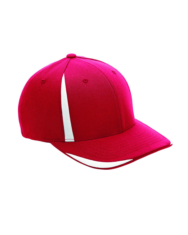 ATB102 Flexfit SPORT RED/WHITE