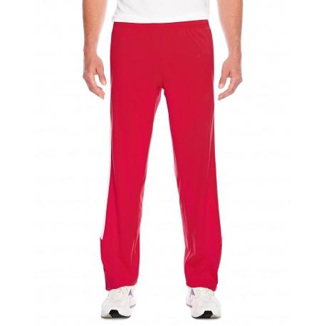 TT44 Team 365 TT44 Men's Elite Performance Fleece Pant SPORT RED/WHITE