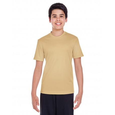 TT11Y Team 365 TT11Y Youth Zone Performance T-Shirt SPORT VEGAS GOLD