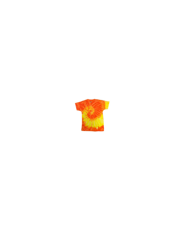 CD100 Tie-Dye SPRAL YLLW/ORNG