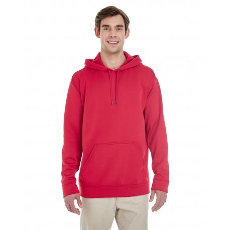 G995 Gildan G995 Adult Performance 7 oz. Tech Hooded Sweatshirt SPRT SCARLET RED