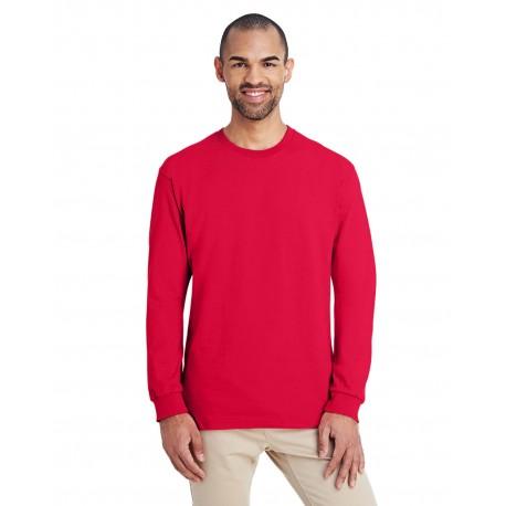 H400 Gildan H400 ADULT Hammer Adult 6 oz. Long-Sleeve T-Shirt SPRT SCARLET RED