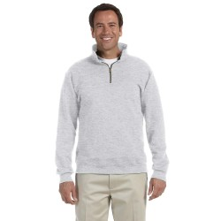 Jerzees 4528 Adult 9.5 oz. Super Sweats NuBlend Fleece Quarter-Zip Pullover