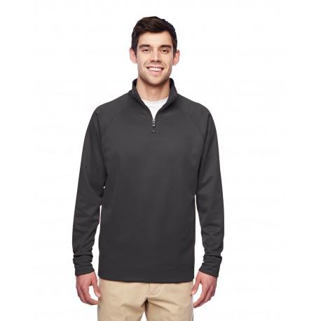 PF95MR Jerzees PF95MR Adult 6 oz. DRI-POWER SPORT Quarter-Zip Cadet Collar Sweatshirt STEALTH