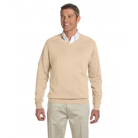 D475 Devon & Jones D475 Men's V-Neck Sweater STONE