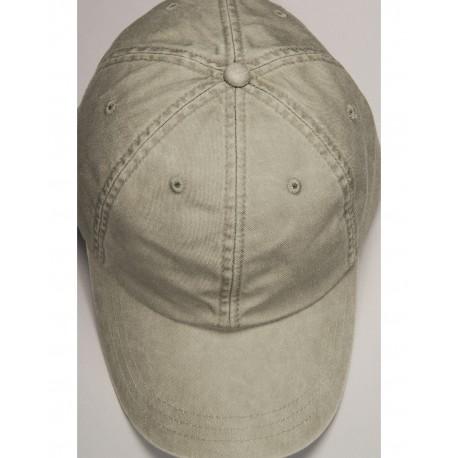 ACEP101 Adams ACEP101 Cotton Twill Essentials Pigment-dyed Cap STONE