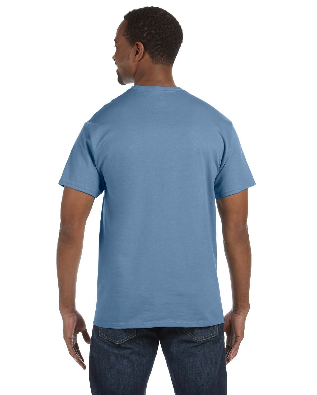 5250T Hanes STONEWASHED BLUE