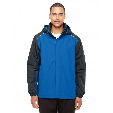 88225 Core 365 88225 Men's Inspire Colorblock All-Season Jacket TR ROY/CRBN 438