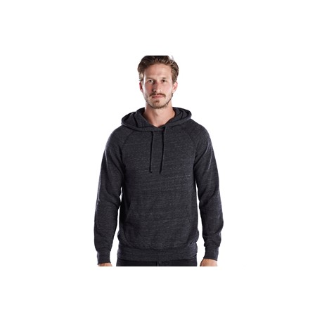 US8899 US Blanks US8899 Unisex Long-Sleeve Pullover Hoodie TRI CHARCOAL